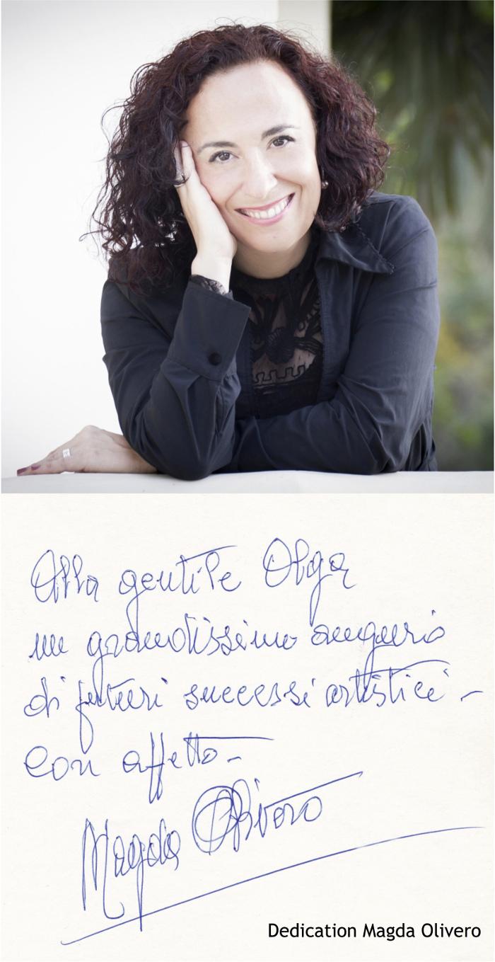 Dedication Magda Olivero-Olga Blanco-Foto