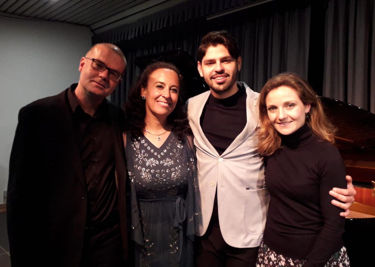 Carlos Apellaniz, Olga Blanco, Alejandro Von Büren, María José Casero